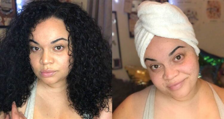 I started using a microfiber hair towel and now I can't wash my hair without one